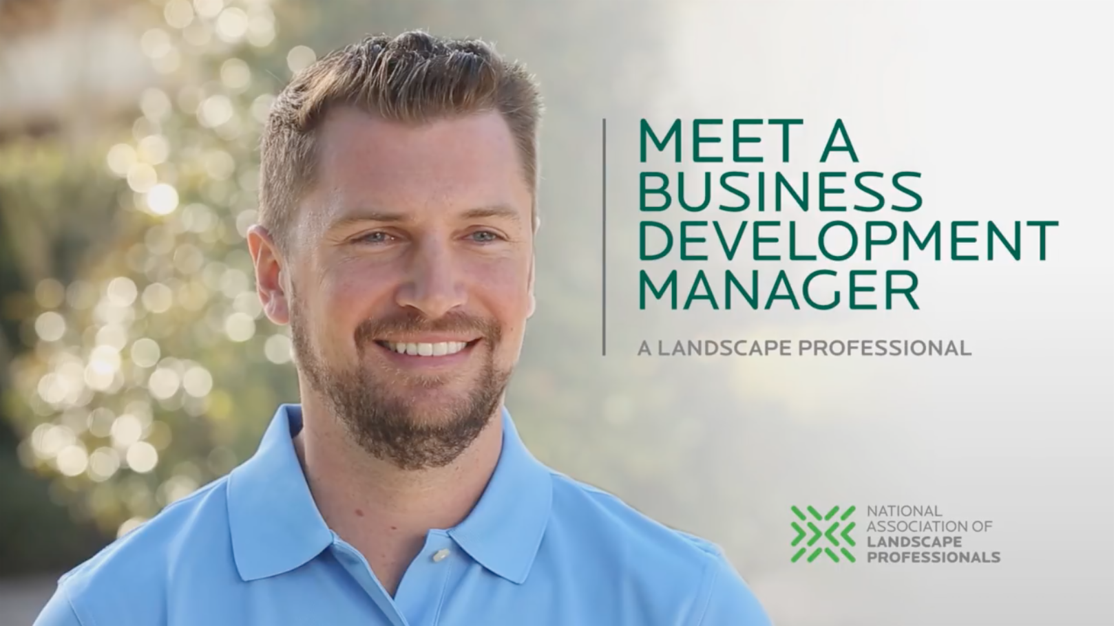 Meet a Business Development Manager - Landscape Industry Testimonial Videos